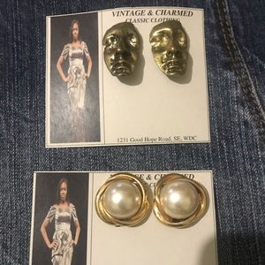 Fashion Jewelry Jewelry - 5 Pair or Fashion Clip On Earrings